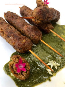 "Seekh Kebabs In A Pan - By ""Aromas And Flavors"""