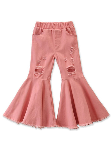 Pink Bell Bottoms