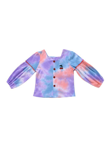 Cherry Tie  Dye Top