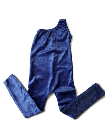 Velvet Blue Body Suit