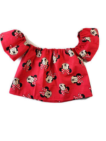Minnie Off the Shoulders Top