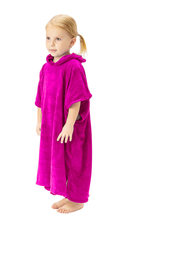 Multipurpose Poncho Towel - Rosebud