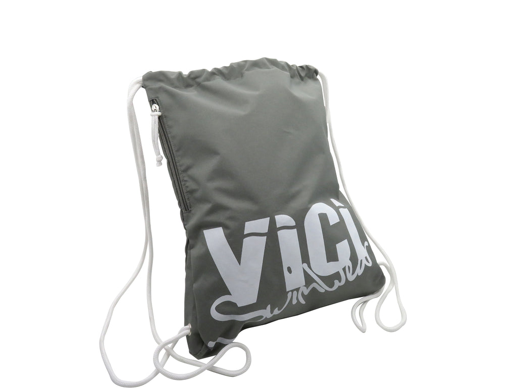 Drawstring Bag Grey