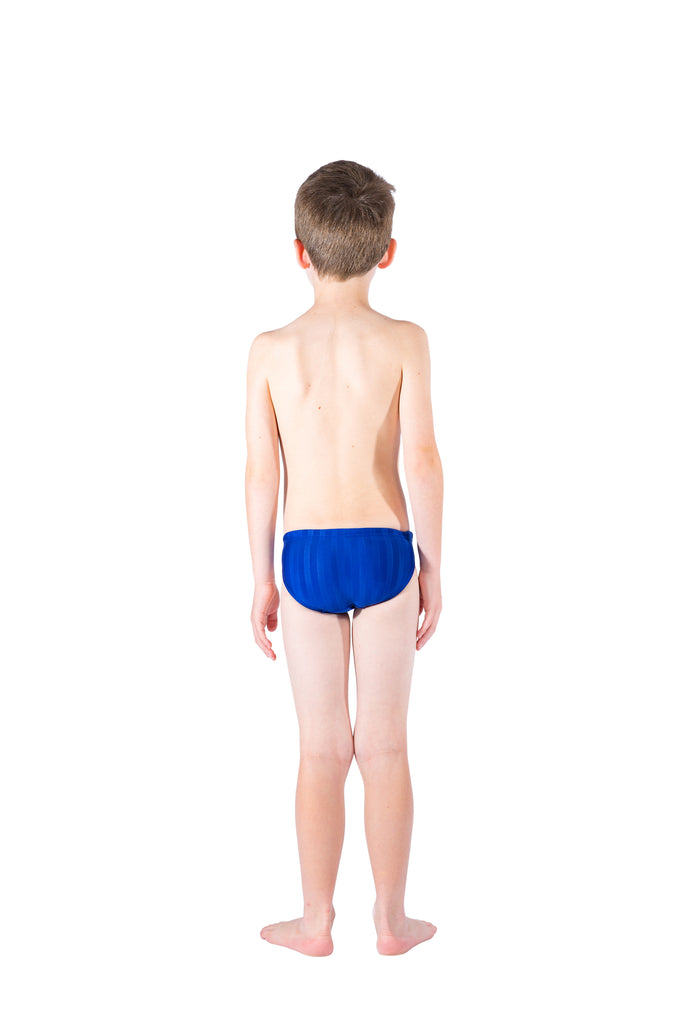 Boys Racer Briefs – Blue