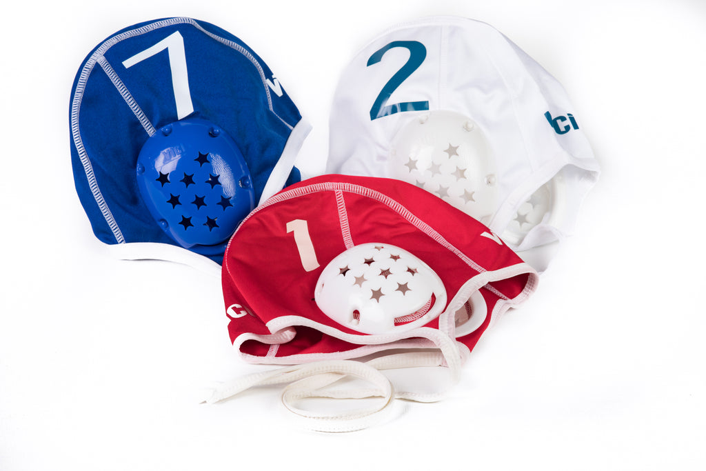 Water Polo Caps – Set of 26