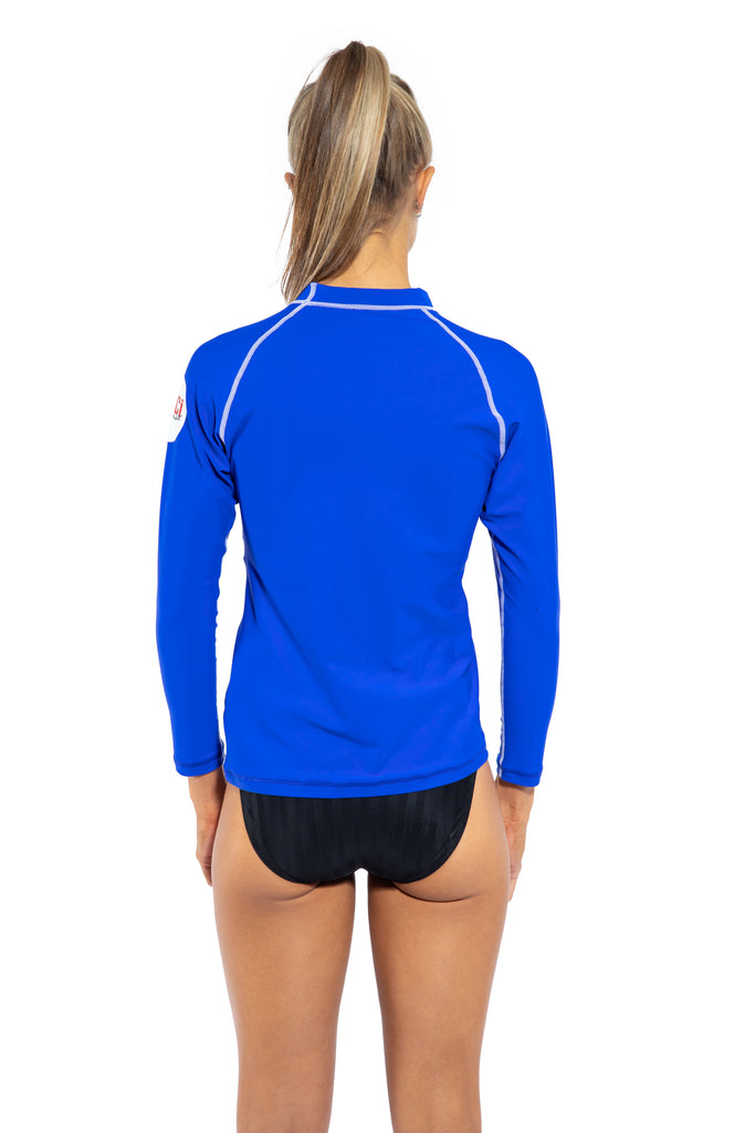 Adults Long Sleeve Rash Shirt – Cobalt