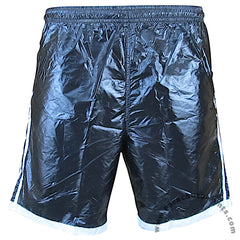 Bruno Black 3-Stripe Nylon Shorts