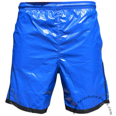Bruno Blue 3-Stripe Nylon Shorts