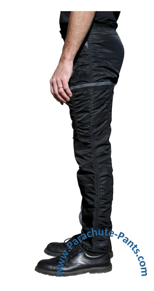 Shiny Countdown Parachute Pants - 80s Nylon Parachute Pants, Coveralls, Overalls, Wind Pants and Shorts. Everything you need to get back to the 80s.
