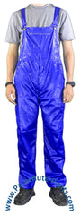 Countdown Blue Shiny Nylon Coveralls