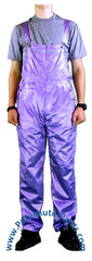 Countdown Purple Shiny Nylon Coveralls