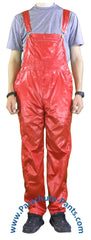 Countdown Red Shiny Nylon Coveralls