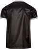 Bruno Black 3-Stripe Nylon T-Shirt