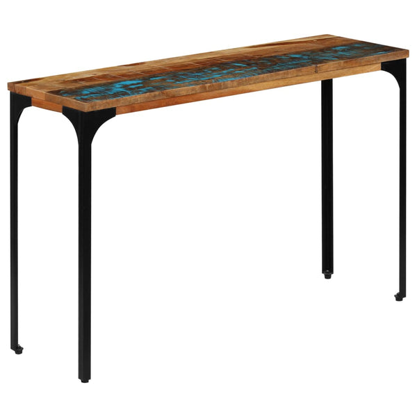 Leela Reclaimed Wood & Metal Console Table