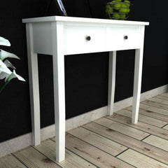 Amathus White Console Table