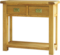 Chiltern Solid Oak Console Table