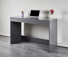 High Gloss Console Table - Grey