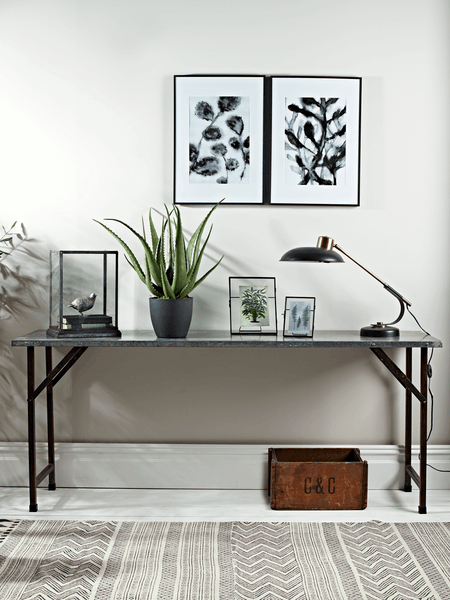 Shiro Industrial Console Table