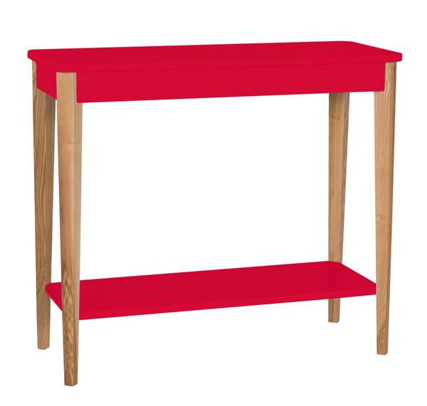 Elsie Console Table - Red