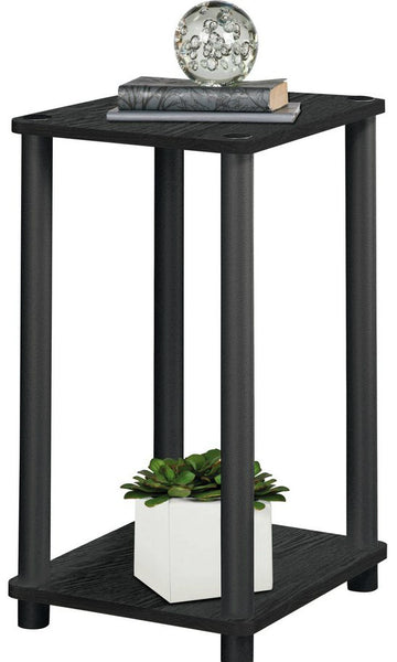 Telephone Console Table - Black