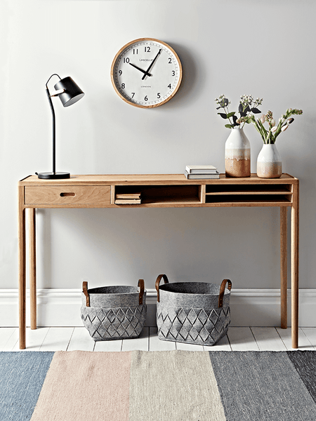 Flynn Oak Console Table