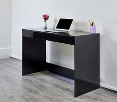 High Gloss Console Table - Black