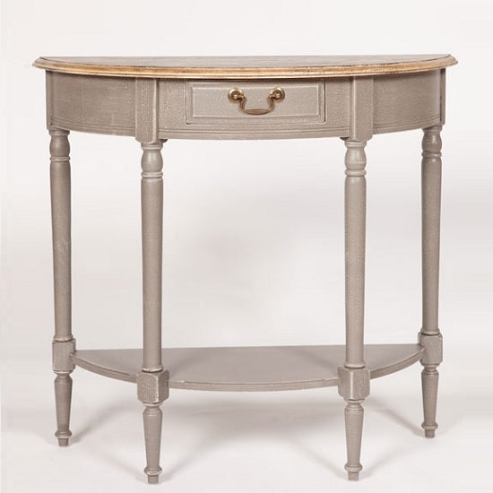 Lancaster Console Table - Half Moon