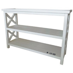 Nautical Console Table - White