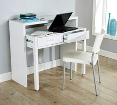 Desk Console Table - White