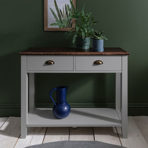 Daltons Console Table - Grey