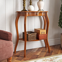 Brekan Hill Console Table - Cherry