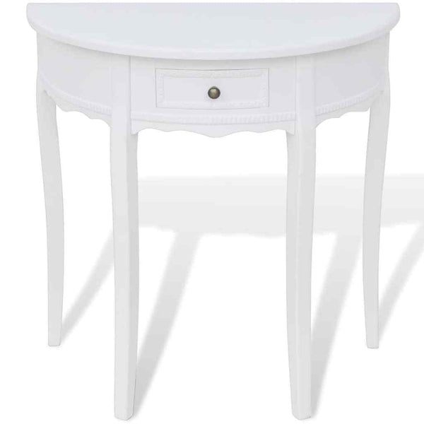 Amelia Console Table - White