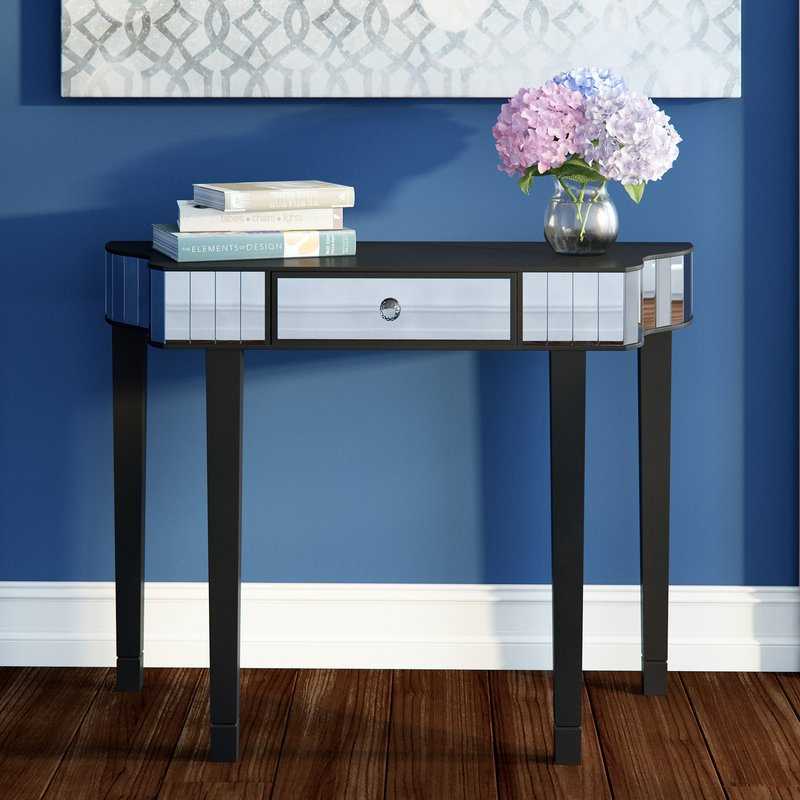 Tia Console Table - Console Tables UK - Black Console Table