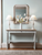 Biata Grey Console Table With Drawer | CONSOLE TABLES UK