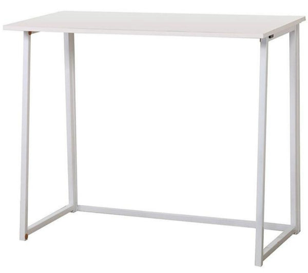 Uri White Console Table Workstation