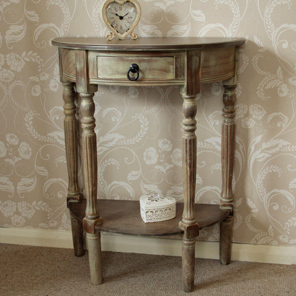 Remy Half Moon Console Table
