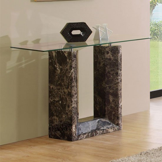 Cesari Marble Console Table