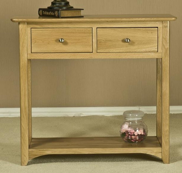 Kensington Solid Oak Console Table