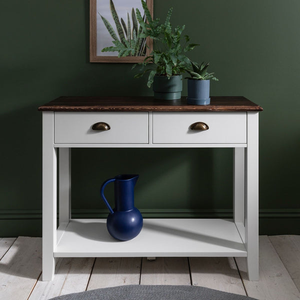 Daltons Console Table - White