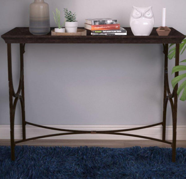 Dorset Console Table - Metal & Wood