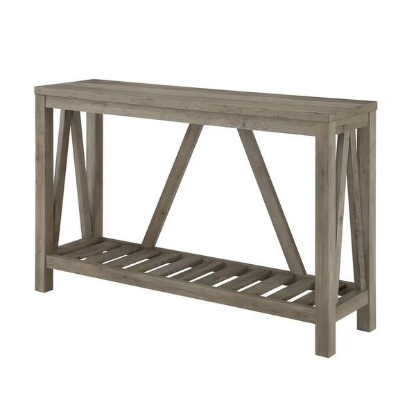 Rayna Console Table - Grey Wash