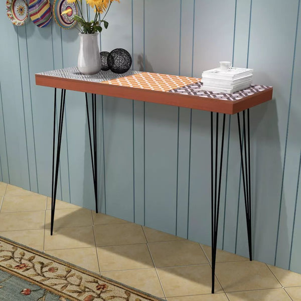 Vinny Console Table - Brown