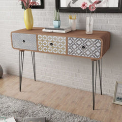 Memo Console Table - Brown