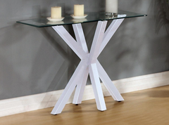 Chelsea White Gloss Console Table