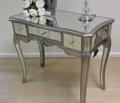 Stefania Mirrored Console Table