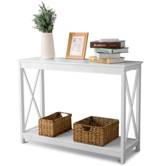 Cambridge Console Table - White