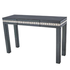 San Remo Smoke Glass Console Table