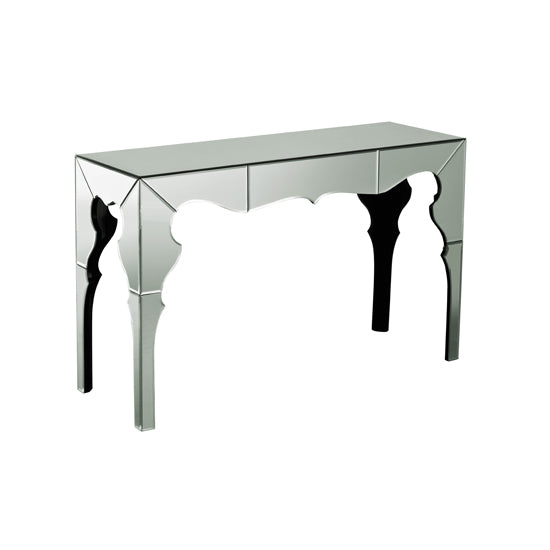 Delphi Mirrored Console Table