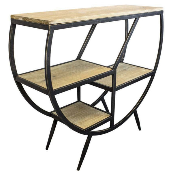 Retra Metal Console Table