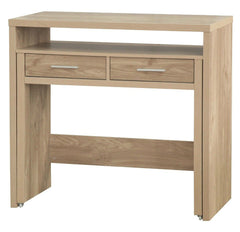 Nimbus Modern Console Table - Oak